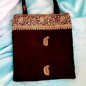 Middle Eastern Embroidered Mini Purse